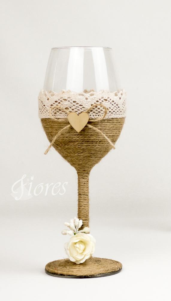 Vintage svadobné poháre