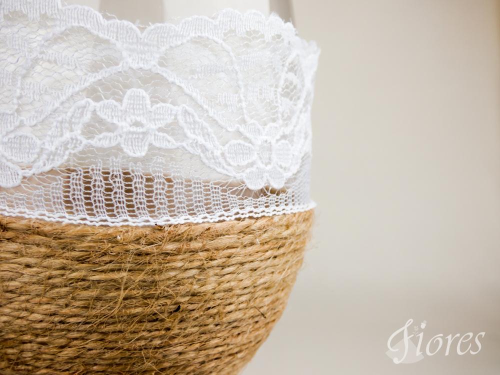 """Vintage svadobné poháre """"Vôňa levandule"""" 5"""