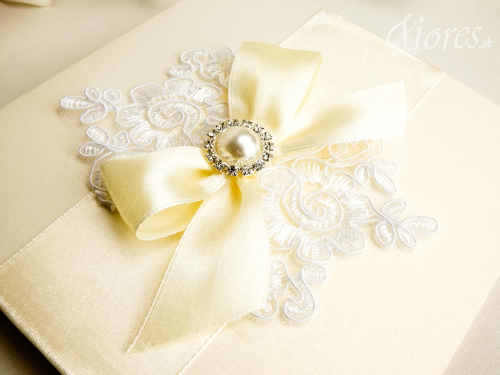"""Svadobné oznámenie """"Luxury lace"""" 3"""