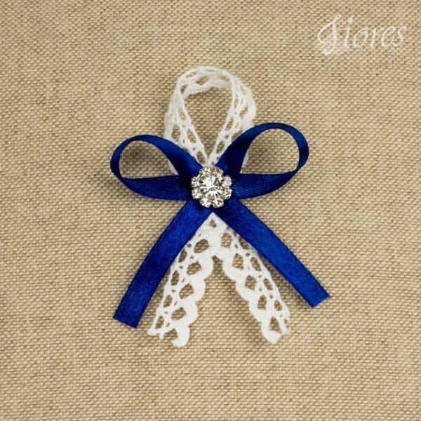 """Svadobné pierka """"Kráľovská modrá"""" 2"""