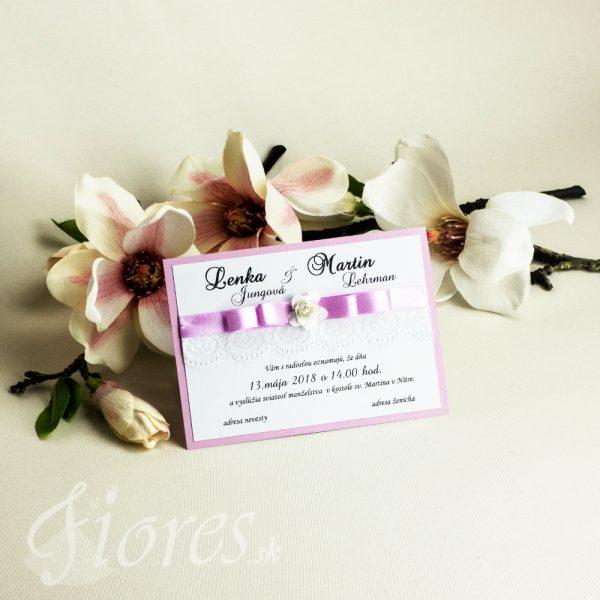 """Svadobné oznámenie """"Vôňa ruže"""""""