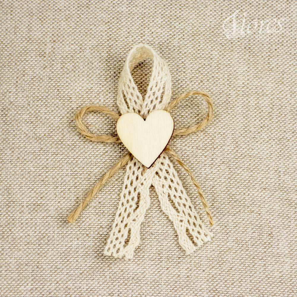 """Vintage svadobné pierka """"Radosť v srdci"""" 2"""