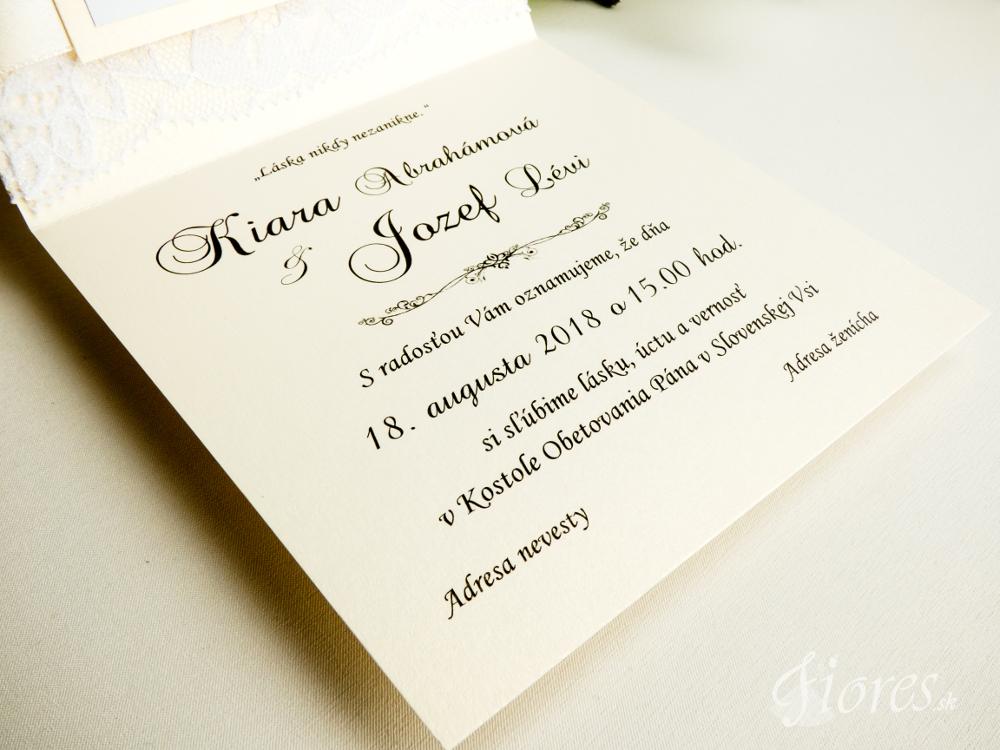 """Svadobné oznámenie """"Kráľovská svadba"""" 5"""