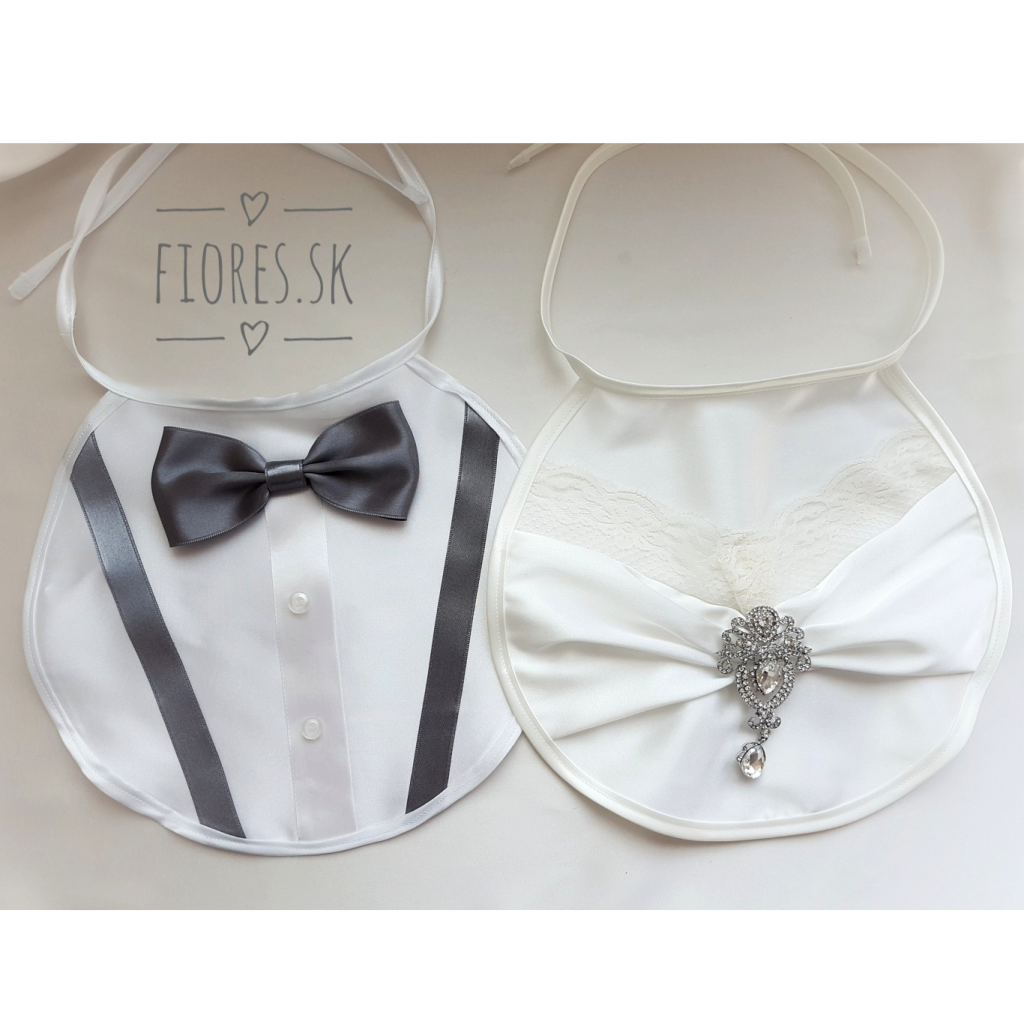 0eca2d37b7bf SET – Elegantné svadobné podbradníčky