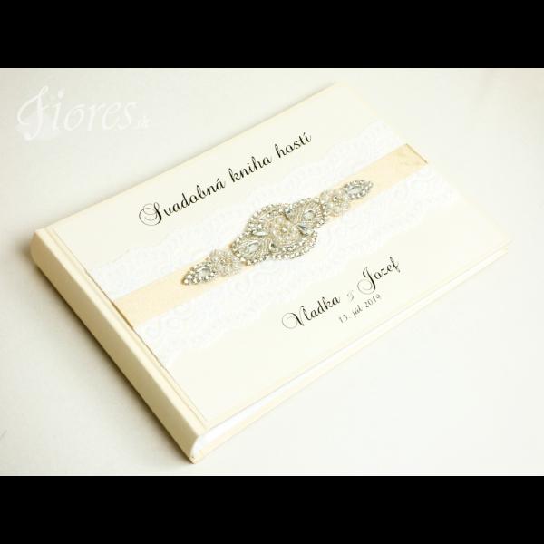 "Svadobná kniha hostí ""De luxe"" 1"