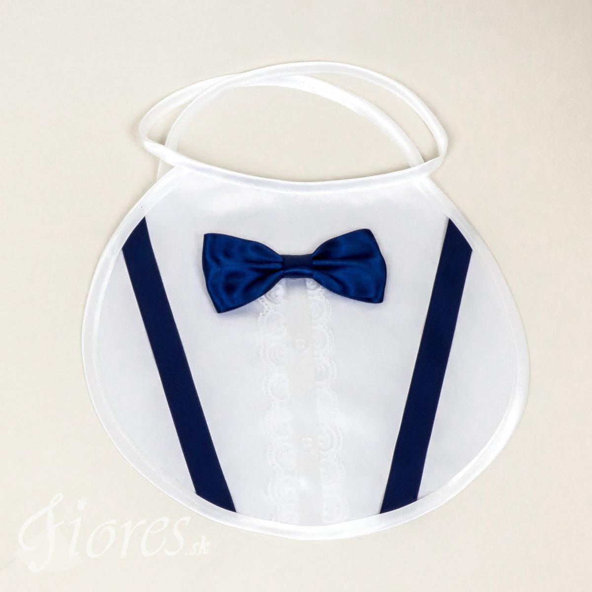 """Svadobné podbradníky """"Navy blue"""" Pánsky"""